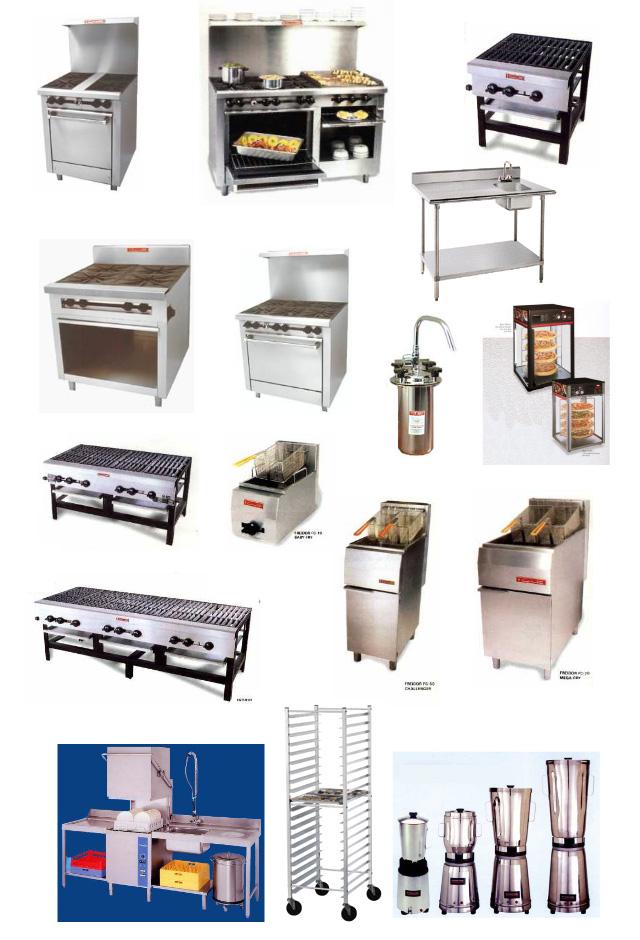Maquinas De Cocina | Equipo Mayor Fijo De Cocina